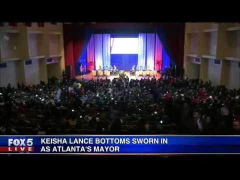 Inauguration for Keisha Lance Bottoms