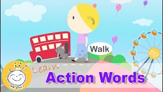 Learn Action Words for Kids  |  Action Vocabulary for Children