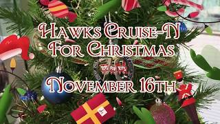 Hawks 2019 Cruise N For Christmas Toy Drive/car Show