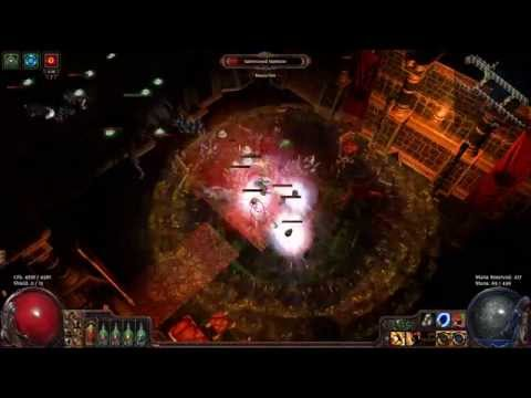 Path of Exile Unique Map : Poorjoy's Asylum