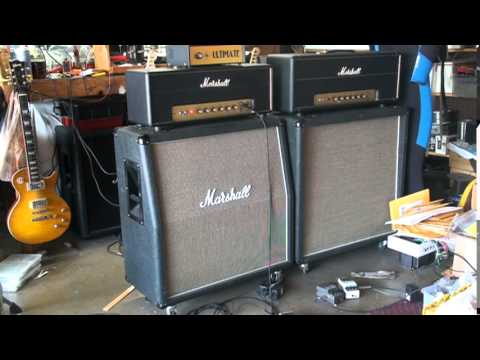 1968 Marshall plexi 50 Watt Output Transformer Change 3
