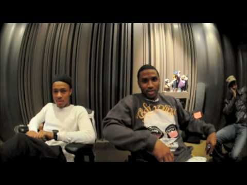 LIVING THE LIFE IN THE STUDIO WITH BOWWOW AND TREY SONGZ