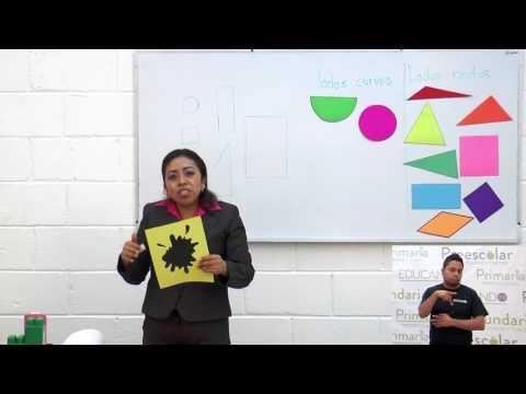 Primaria 1º y 2º clase: 46 Tema: Figuras geométricas