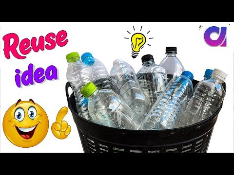 WOW !! DIY Plastic bottle reuse/Best craft from plastic bottle   Best out of waste   Artkala