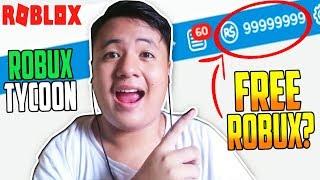 FREE ROBUX SA ROBLOX?! | Roblox (Bank Tycoon) - #TAGALOG #FILIPINO