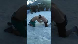Veliköy Kar Üstü Güreşler Final