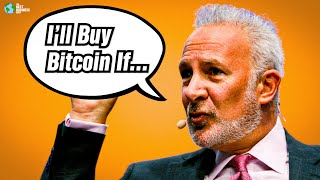 Peter Schiff: I'll buy bitcoin if this happens...