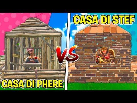 Fortnite ITA - CASA DI PHERE VS CASA DI STEF