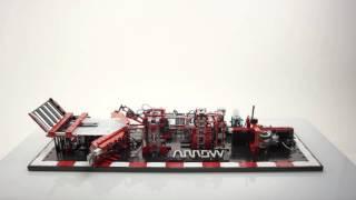 Lego Paper Plane Machine - Full Take