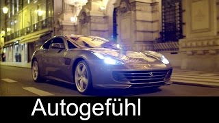 2016 Ferrari GTC 4 LUSSO First Trailer Sound + Performance - Autogefühl