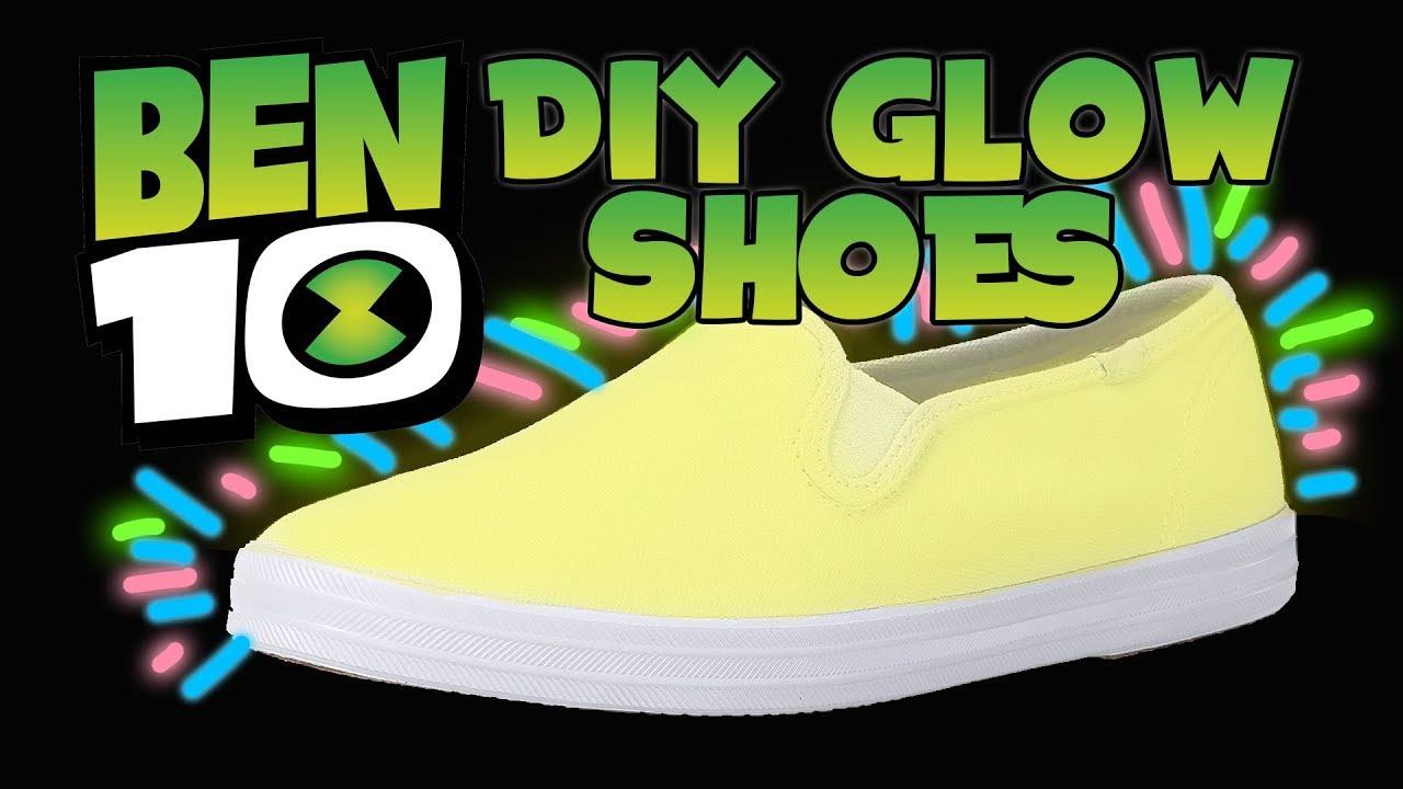 ben 10 shoes light up