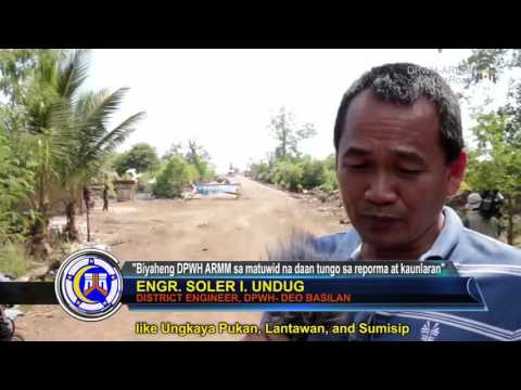 Roads, Port and Water System Projects of Sumisip Basilan Province