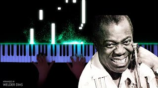 Louis Armstrong - What A Wonderful World | Piano Cover видео