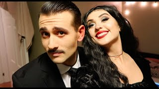 For halloween this year we dressed up as the addams family! watch me turn john into gomez addamsig:@sargallyy