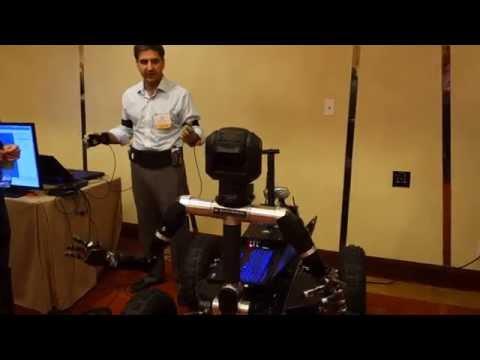 "Tele-robotics at the DARPA ""Biology is Technology"" Gathering"