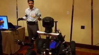 "Tele-robotics at the DARPA ""Biology is Technology"" Gathering"