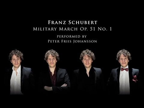 Schubert: Military March arranged for 8 hands