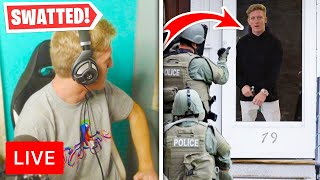 5 Fortnite Streamers Who Were SWATTED LIVE!