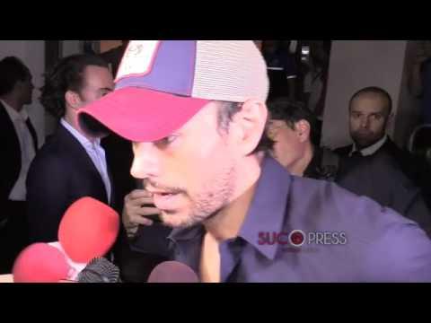 Enrique Iglesias presenta su restaurante en Miami