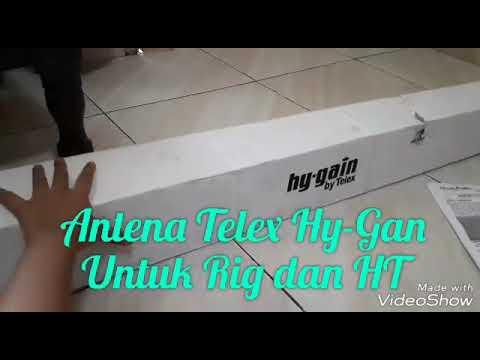 Cara memasang Antena Telex V2R Hy-Gain untuk rig dan Ht ...