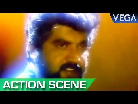 Sharath Kumar Beats The Wrestler || Nadodi Mannan Tamil Movie || Action Scene