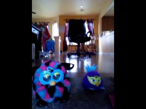 Furby party rocker and furby boom