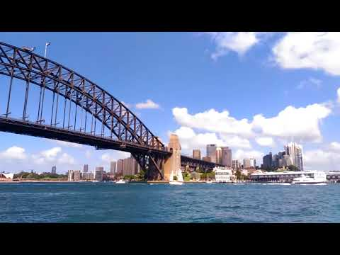 Opera House & Harbor Bridge from Manly Ferry
