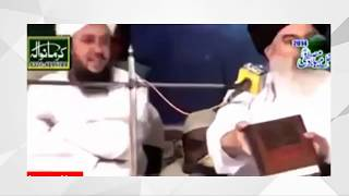 Khadim Hussain Rizvi doing blasphemy of prophet MUHAMMAD (saw)