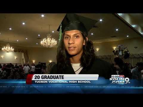 Twenty students graduate from Pima Vocational High School