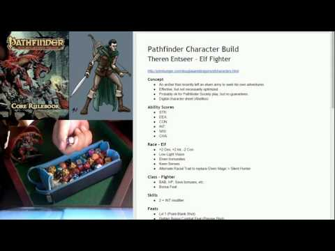 Goodpencil Games - Pathfinder Character Building