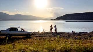 Kyrgyzstan Toktogul Reservoir Bath In The Lake Кыргызстан