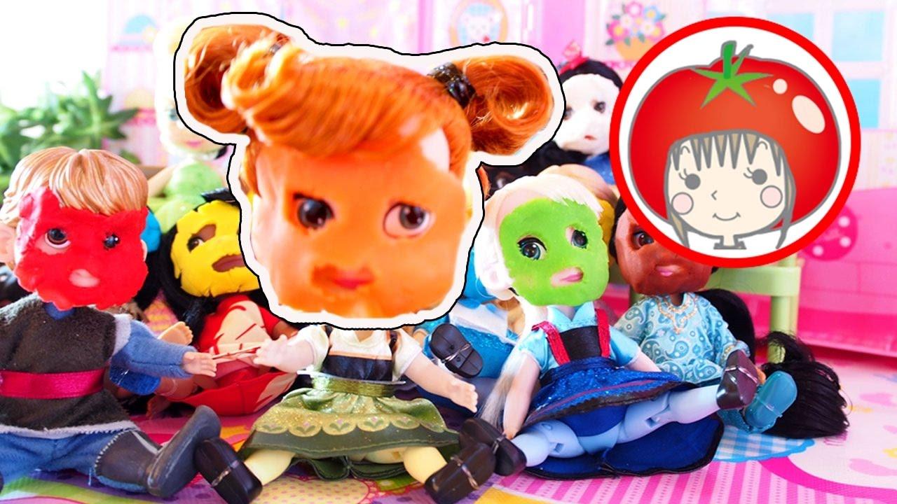 トマトおねえさんおもちゃアニメ♯19 メルちゃん パック ディズニー