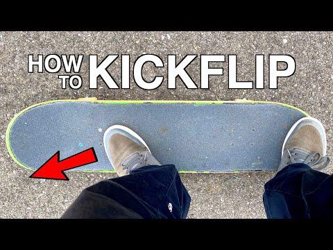 HOW TO KICKFLIP