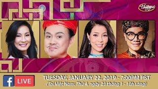 Livestream với Hồng Đào, Chí Tài, Châu Ngọc Hà, Thái Nguyễn - Jan 22, 2019