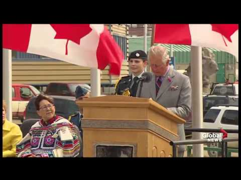 Prince Charles touts impact of climate change during Nunavut visit