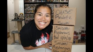 Shumi Mysterious Box Unboxing - [10.7.18] + Chase Roulette