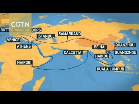 Eurasian and African countries benefit from China's Belt and Road Initiative
