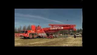 Tadano 400 ton crane Part #2