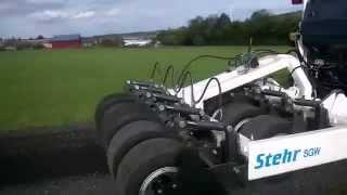Stehr Gummiradwalze SGW für Grader und Traktoren