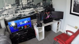 My Epic Gaming Room Tour Setup!!!...