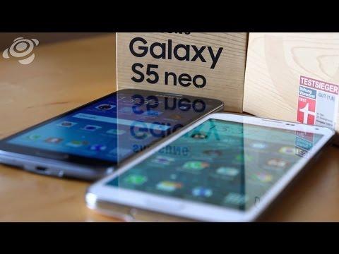 Samsung Galaxy S5 Neo und Galaxy S5 im Vergleichs-Test [HD] Deutsch