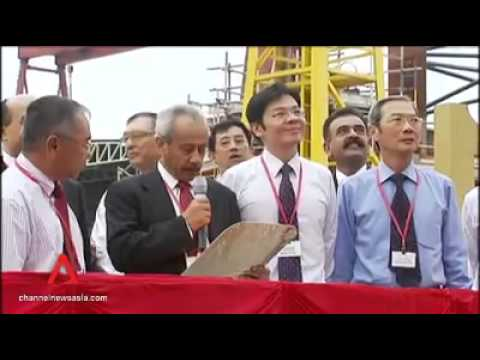 Keppel FELS sets record for rig deliveries this year   Channel NewsAsia