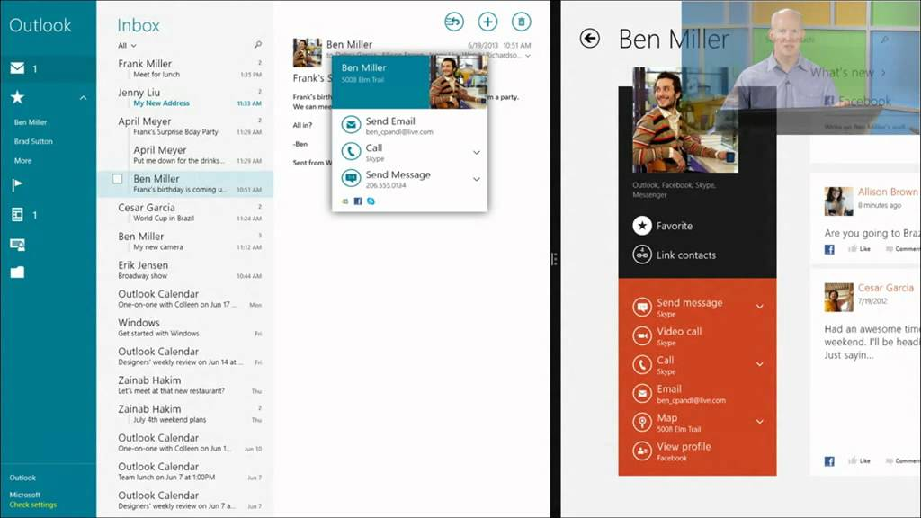 how to add contacts on skype windows 8.1