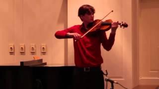 Mendelssohn Concerto , Allegro molto appassionato
