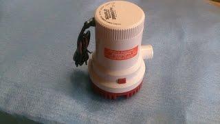 Насос для воды 12 вольт SFBP1-G2000(Погружной насос SFBP1-G2000-01 12 вольт Отлично подойдет для полива на даче, мойки машины. Безопасен и прост в приме..., 2014-09-04T23:52:32.000Z)