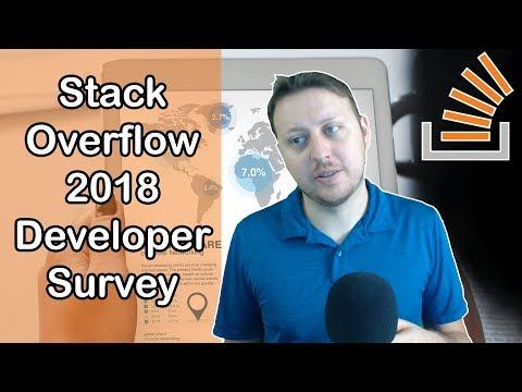2018 Stack Overflow 2018 Developer Survey | Ask a Dev