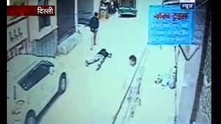 Sansani: CCTV captures guy being shot dead in Delhi
