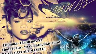 Rihanna - Diamonds VS Tiesto ft Kay - Work Hard, Play Hard(ISRAEL GAVLAEV MASHUP)