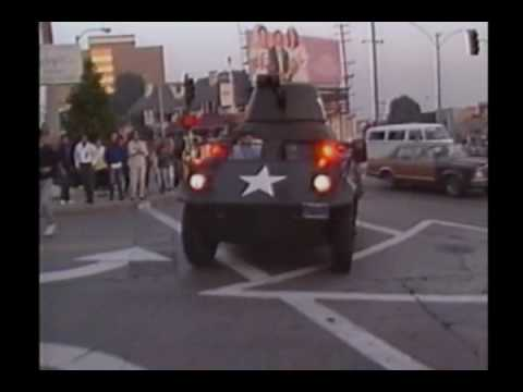 Frankie Goes To Hollywood - Two Tribes - Sunset Strip Remix Video