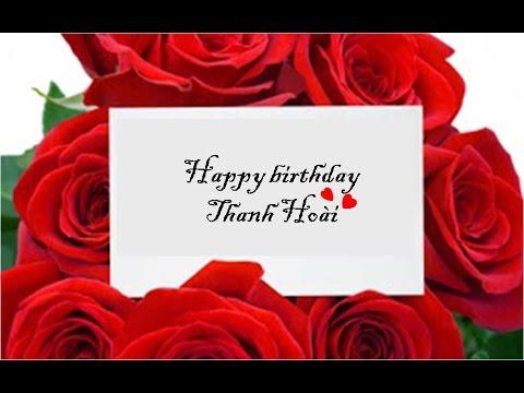 Chúc mừng sinh nhật người tôi yêu
